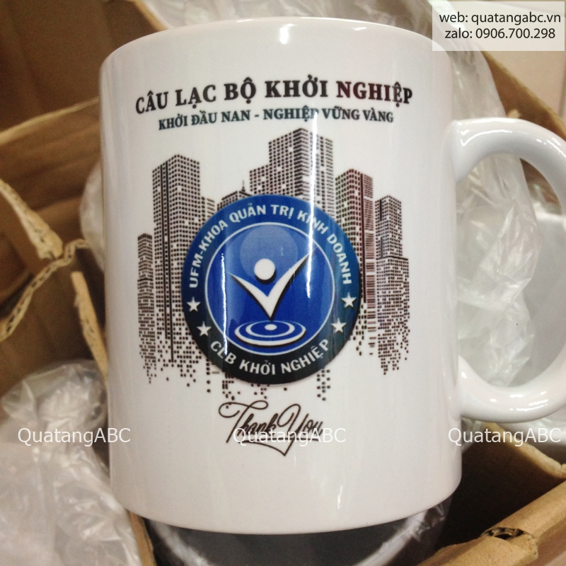 INLOGO in ly sứ cho CLB KHỞI NGHIỆP - UFM