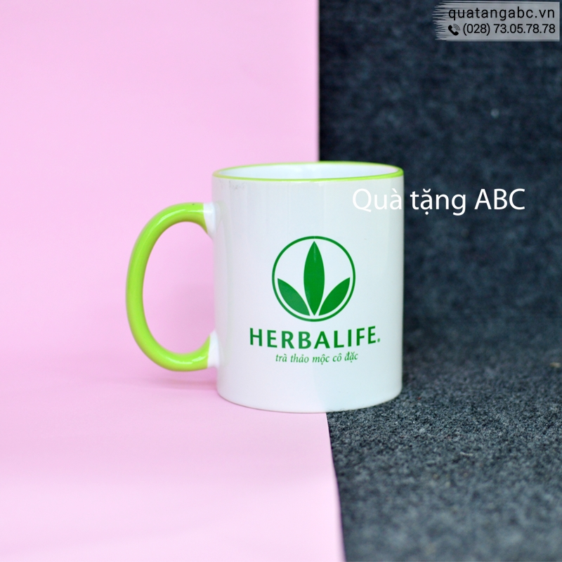 INLOGO in ly sứ cho Công ty Herbalife Việt Nam