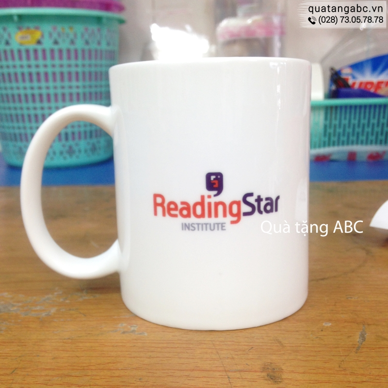 INLOGO in ly sứ cho Trung Tâm Anh Ngữ ReadingStar